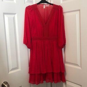Red/Fuchsia dress size petite 6